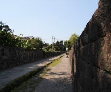 武家屋敷 水路