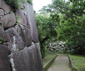 島原城 鏡石