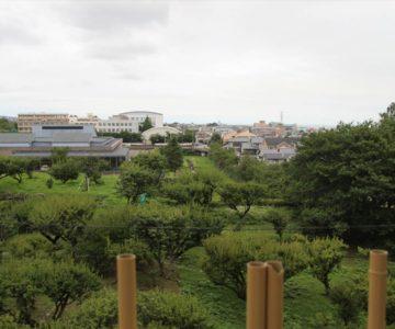 島原城から文化会館