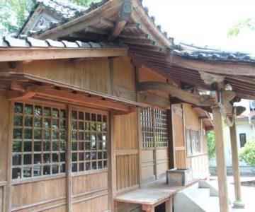 二本木神社 拝殿