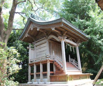 二本木神社 本殿