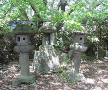 二本木神社 石祠