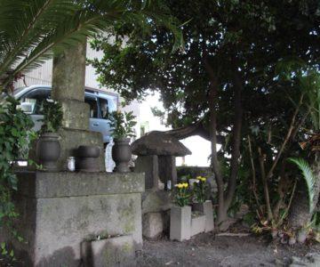 龍造寺隆信の供養塔