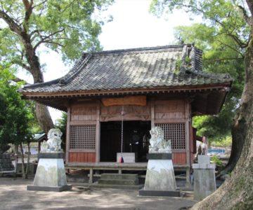 馬頭観音中原神社 拝殿