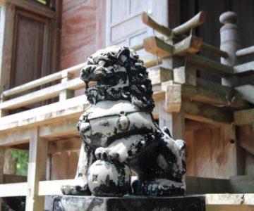 馬頭観音中原神社 狛犬