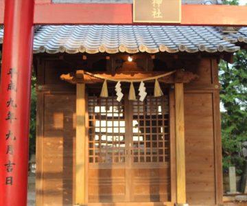 松風稲荷神社 八幡神社