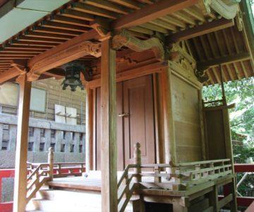 潜龍園神社 本殿