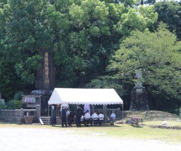 霊丘神社 慰霊祭