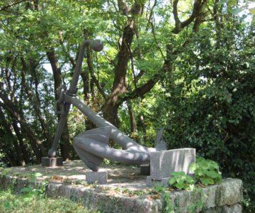 金比羅神社 島原ドック石碑
