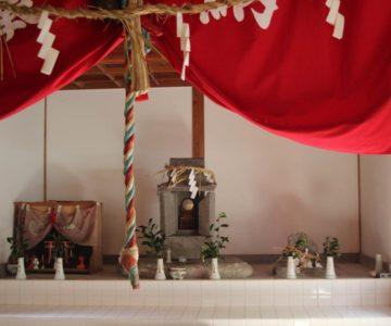 丸尾稲荷神社 神棚
