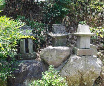 正地稲荷神社 石祠