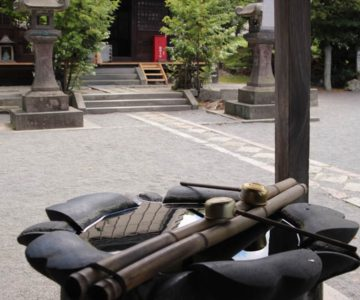 温泉神社 手水