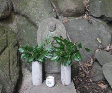 折橋神社 石仏