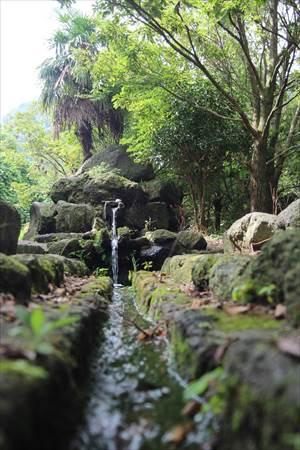 まゆやまロード 千本木湧水