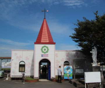 島鉄 愛の駅 駅舎
