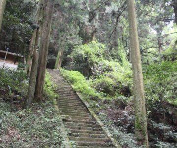 岩戸神社 石段