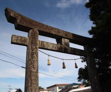 猛島神社 鳥居