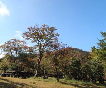 雲仙白雲の池 テント用施設