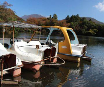 雲仙白雲の池 ボート