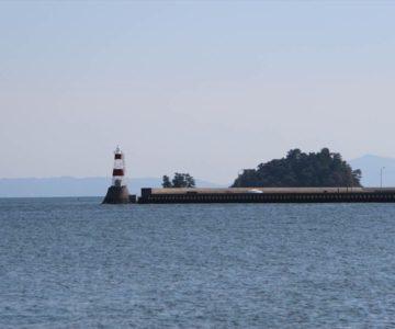 島原海浜公園の灯台