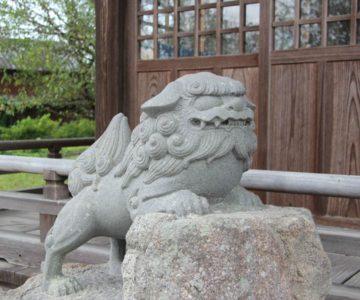 天満神社 狛犬