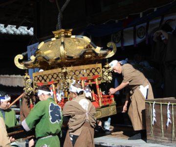 霊丘神社 神幸祭