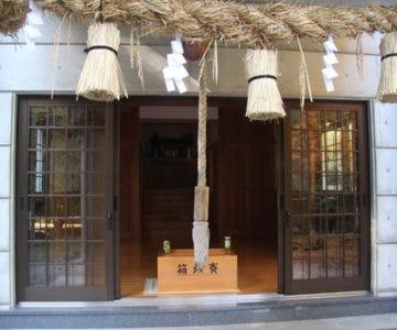 焼山神社 社殿