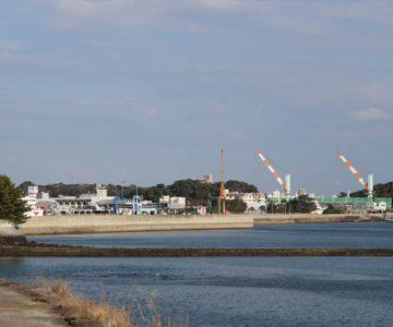 島原港と島原ドッグ