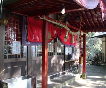 猿場稲荷神社 拝殿