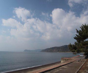 千々石海岸(旧海水浴場)