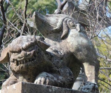 高城神社 狛犬