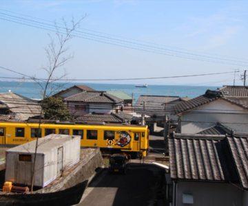 島原鉄道の汽車