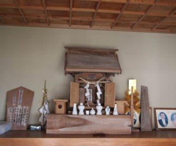 折橋神社 神棚