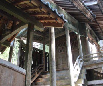 八坂神社 幣殿と本殿