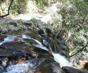 戸ノ隅の滝 滝口