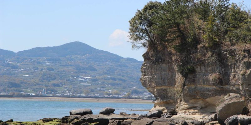 島原半島世界ジオパーク龍石海岸