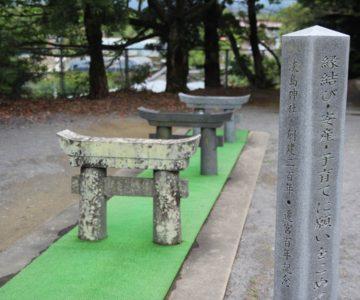 淡島神社 ミニ鳥居