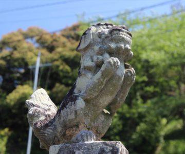 八幡宮 狛犬