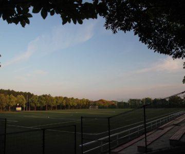 百花台公園 サッカー場
