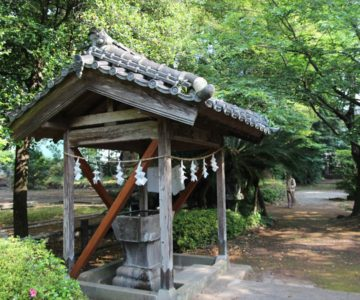 温泉神社 手水舎