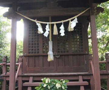 金刀比羅神社 祠