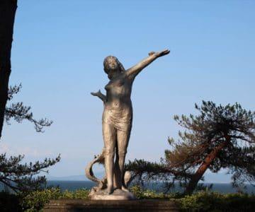 島原城 北村西望 平和の女神