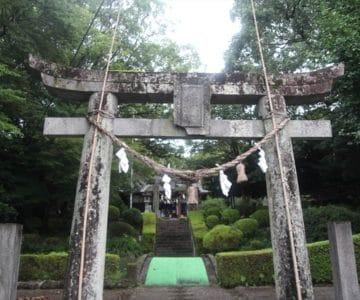 諏訪神社 鳥居