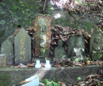 猿場稲荷神社 石碑