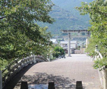 橘神社 軍人橋