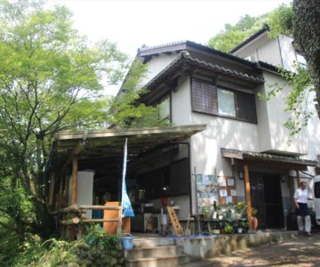 鮎帰りの滝 滝の茶屋