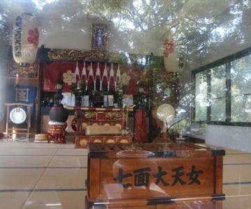 護国寺 七面堂