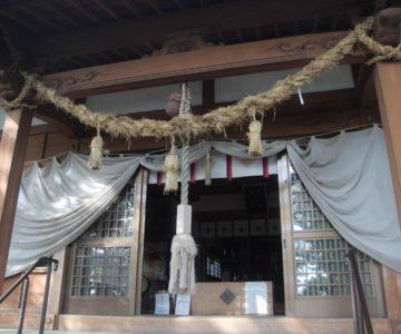 湯江温泉神社 拝殿