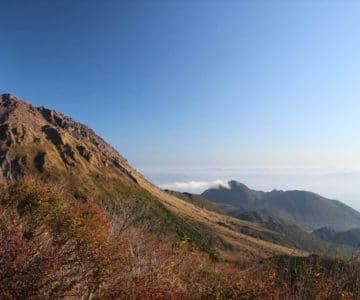 仁田峠第二展望台 平成新山と眉山