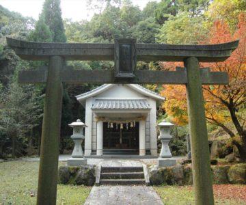 焼山神社 鳥居